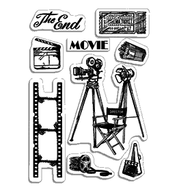 """Ciao Bella Clear Stamp Set 4""""x6"""" The Director"""