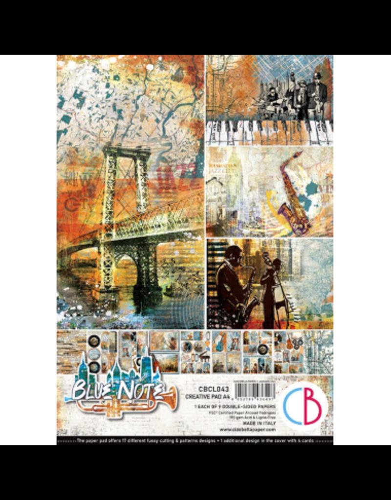 Ciao Bella Blue Note Creative Pad A4 9/Pkg
