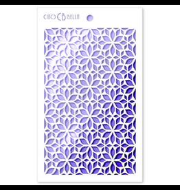 """Ciao Bella Texture Stencil 5""""x8"""" Assisi"""