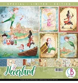 """Ciao Bella Neverland Limited Edition Paper Pad 12""""x12"""" 12/Pkg"""
