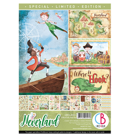 Ciao Bella Neverland Limited Edition Creative Pad A4 9/Pkg