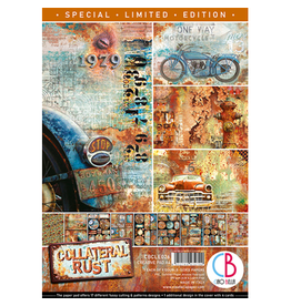 Ciao Bella Collateral Rust Limited Edition Creative Pad A4 9/Pkg