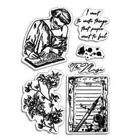 """Ciao Bella Clear Stamp Set 4""""x6"""" Muse"""