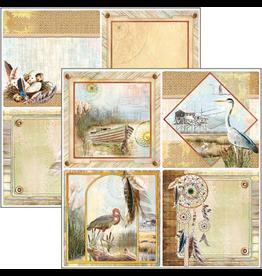 """Ciao Bella Delta Cards Paper Sheet 12""""x12"""""""