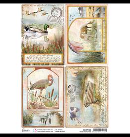 Ciao Bella Rice Paper A4 Delta postcards