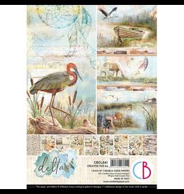 Ciao Bella Delta Creative Pad A4 9/Pkg
