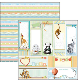 """Ciao Bella Save the Date Paper Sheet 12""""x12"""""""