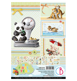 Ciao Bella My First Year Creative Pad A4 9/Pkg