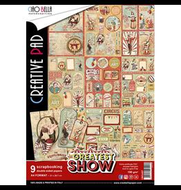 Ciao Bella The Greatest Show Creative Pad A4 9/Pkg