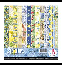"""Ciao Bella Sicilia Paper Pad 6""""x6"""" 24/Pkg"""
