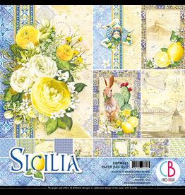 """Ciao Bella Sicilia Paper Pad 12""""x12"""" 12/Pkg"""