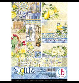 Ciao Bella Sicilia Creative Pad A4 9/Pkg