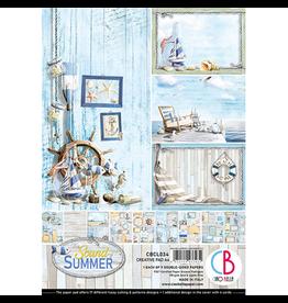 Ciao Bella Sound of Summer Creative Pad A4 9/Pkg