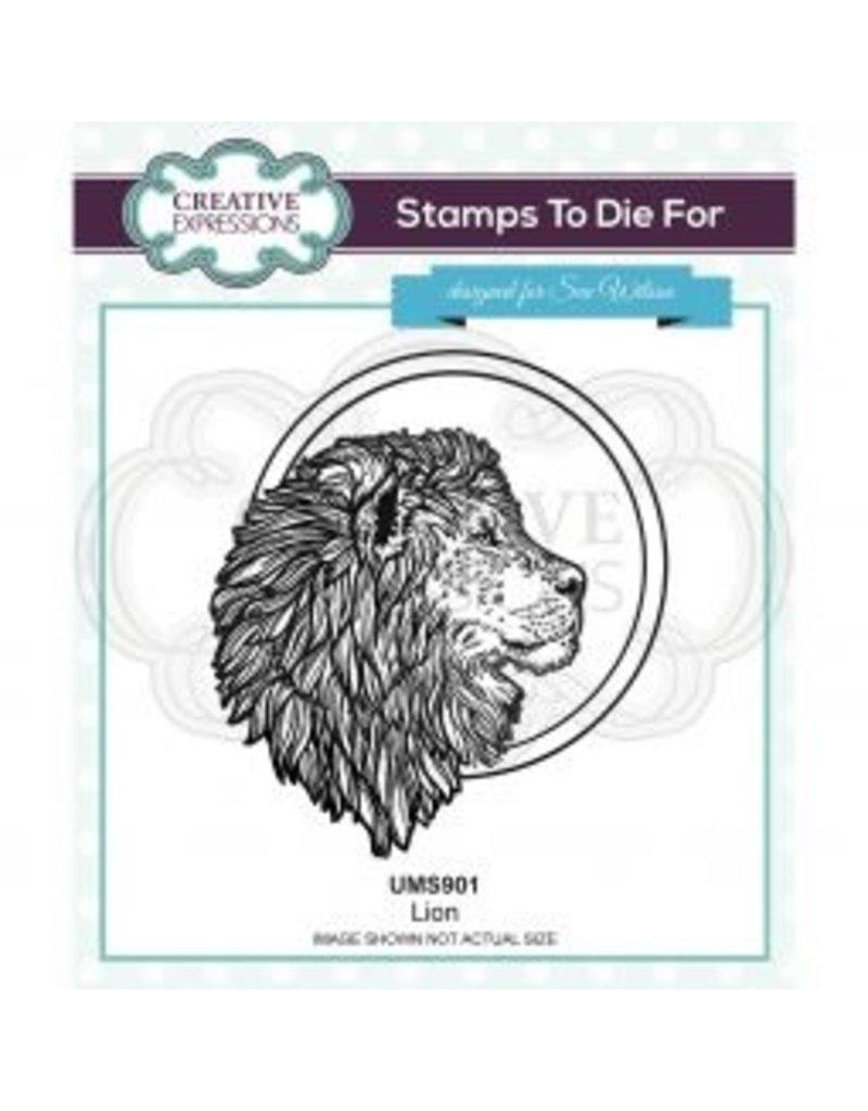 creative expressions Creative Expressions • Pre cut stamp Leeuw
