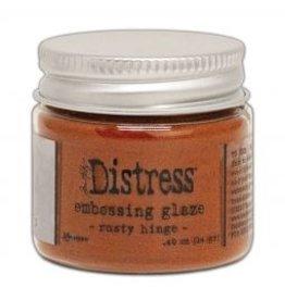 Tim Holtz · Ranger Ranger • Distress embossing glaze Rusty hinge
