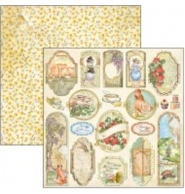 """Ciao Bella Aesop's Fables Cards Paper Sheet 12""""x12"""""""