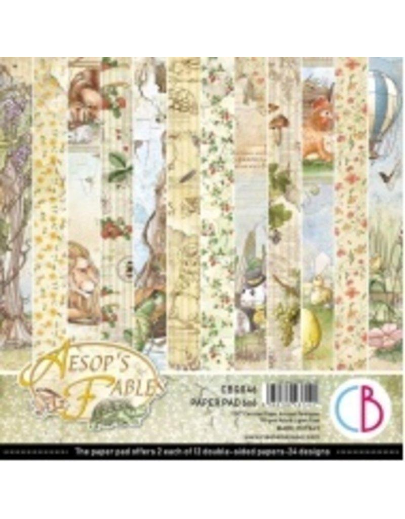 """Ciao Bella Aesop's Fables Paper Pad 6""""x6"""" 24/Pkg"""