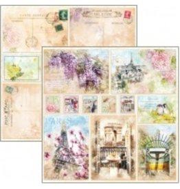 "Ciao Bella Notre Vie Cards Paper Sheet 12""x12"""