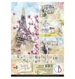 Ciao Bella Notre Vie Creative Pad A4 9/Pkg