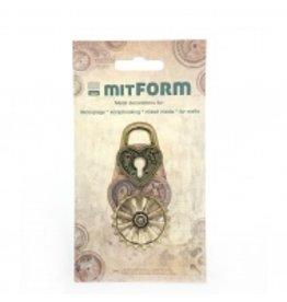 Mitform Mitform Assembly Padlocks Metal Embellishments