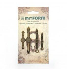 Mitform Mitform Clock 1 Metal Embellishments