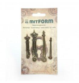 Mitform Mitform Clock 2 Metal Embellishments
