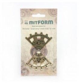 Mitform Mitform Corners 3 Metal Embellishments