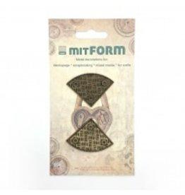 Mitform Mitform Corners 4 Metal Embellishments