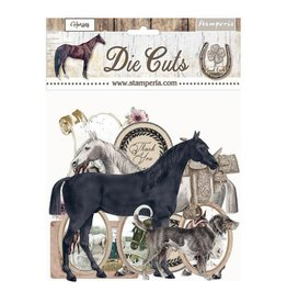 Stamperia Die cuts assorted - Romantic Horses