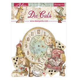 Stamperia Die cuts assorted - Alice through the looking glass