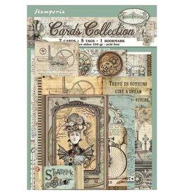 Stamperia Cards Collection - Voyages fantastiques