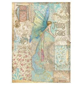 Stamperia A4 Rice paper packed - Sleeping Beauty fairy tales