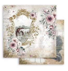 Stamperia Scrapbooking paper double face - Romantic Horses Lake