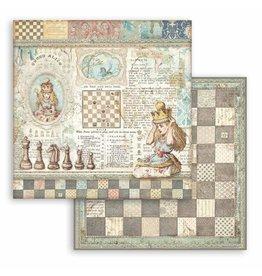Stamperia Scrapbooking paper double face - Queen Alice