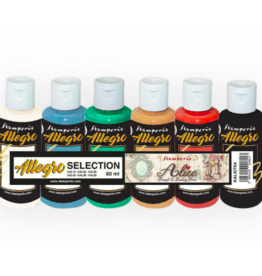 Stamperia Kit 6 Allegro selection Alice