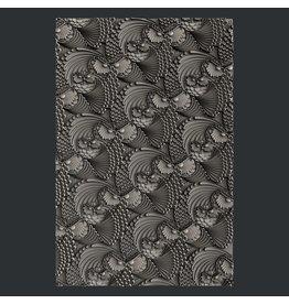 Zuri Design Zuri Mold - Owl Flurry texture sheet