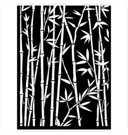 Stamperia Mixed Media Stencil cm 15x20 - Sir Vagabond in Japan bamboo