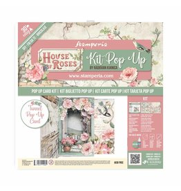 Stamperia Tunnel Pop up kit - House of Roses