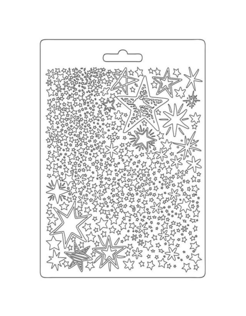 Stamperia Soft Mould A5 - Christmas Patchwork stars