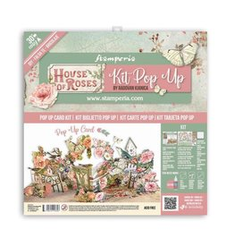 Stamperia Pop up kit - House of Roses