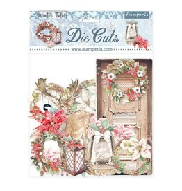 Stamperia Die cuts assorted - Winter Tales Christmas elements