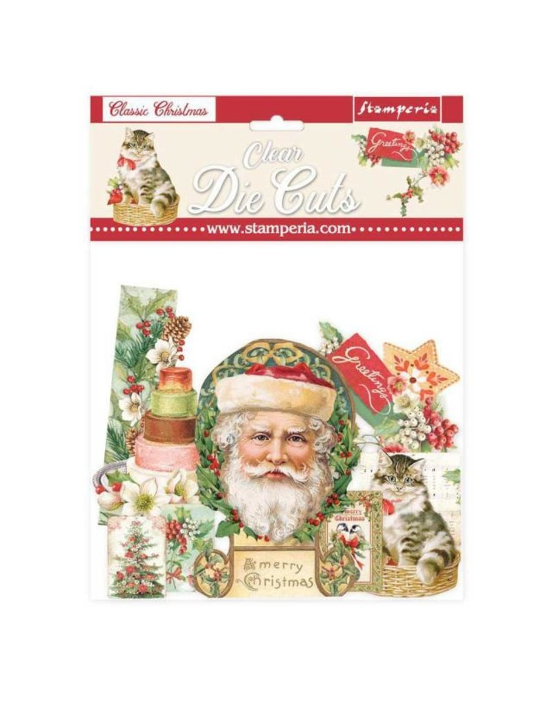 Stamperia Clear Die cuts - Classic Christmas