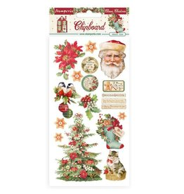Stamperia Chipboard cm 15x30 - Classic Christmas