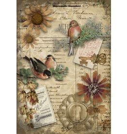 Decoupage Queen Autumn Birds