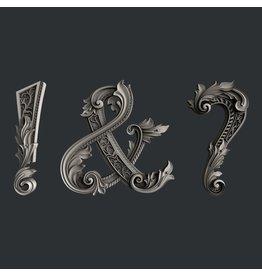Zuri Design Zuri Mold- Fancy symbols