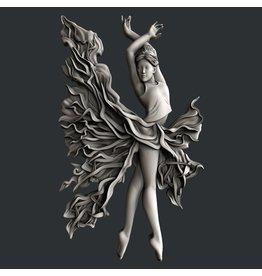 Zuri Design Zuri Mold- Fire dancer