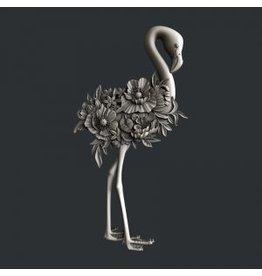 Zuri Design Zuri Mold- Flamingo Bloom
