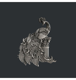 Zuri Design Zuri Mold- Peacock Splendor