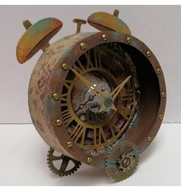 Belinda Basson Greyboard 3D Clock Workshop - Belinda Basson