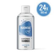 Paxontac Desinfecterende Handgel - 100 ml 24x - Handige meeneemverpakking | Paxontac